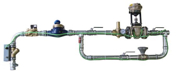 Wasser- und Dampfdosiereinheiten | Beispiel: Wasserdosiereinheit