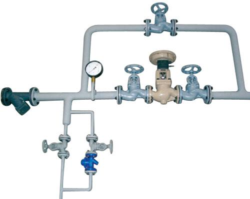 Wasser- und Dampfdosiereinheiten | Beispiel Dampfdosiereinheit