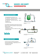 Wasser- und Dampfdosiereinheiten Download
