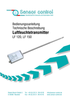 Download Luftfeuchtemessung - Luftfeuchtetransmitter LF