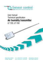 Humidity Transmitter LF Download