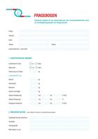 Gießerei Flyer Fragebogen Sandaufbereitung