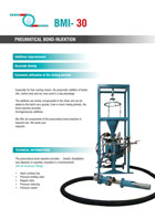 Download flyer Injection pneumatique de liants BMI | Pneumatic Binder Injection BMI