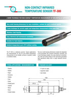 Download flyer | optical sensors | Capteurs optiques TF-300