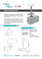 Download flyer | Capacitive Sensor Systems | Systèmes de capteurs capacitifs SC 7100