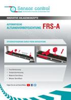Automatische Automatische Altsandvorbefeuchtung FRS-A Download