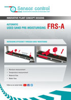 Automatic Used Sand Pre-moisturising FRS-A Download