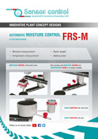 automatic moisture control at the batch mixer FRS-M Download