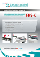 Download flyer Automatic Moisture Control at the Cooler / Continuous Mixer FRS-K