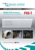 Download flyer Dosage automatique de l'eau pour les tambours de décochage / de refroidissement FRS -T