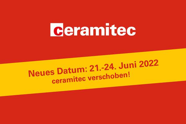 Ceramitec verschoben auf 2022