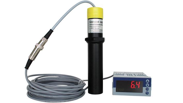 Plastometer mit einer externen Anzeige für Druck