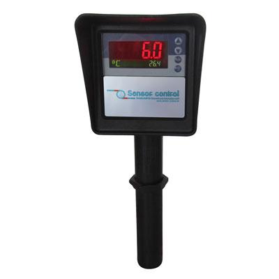Plastometer mit einer Kombi-Anzeige_Druck/Temperatur