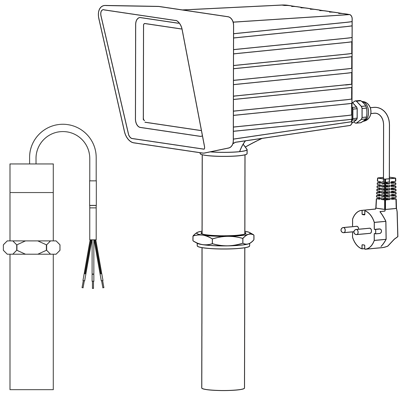 Plastometer Vektor Zeichnung